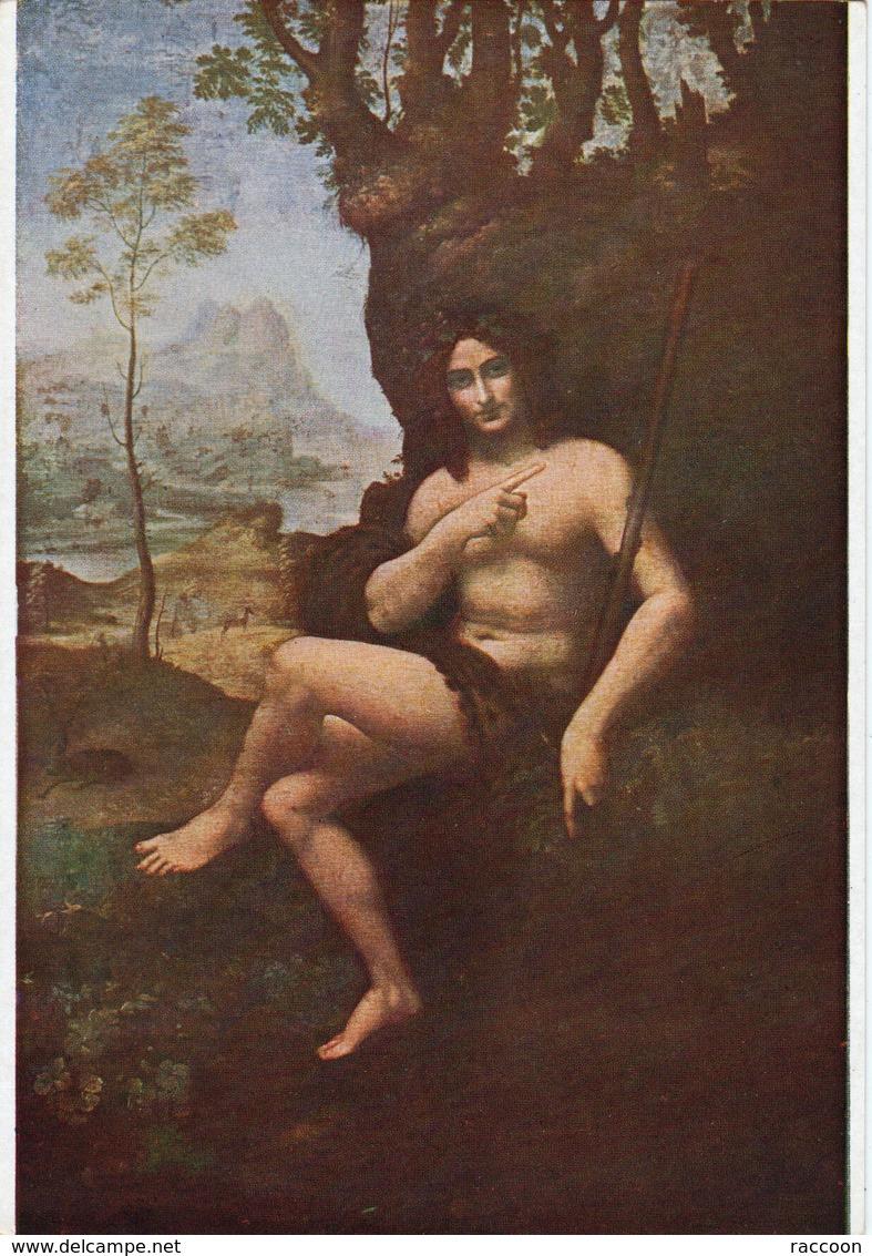 DE VINCI: Bacchus [ Nu Homme CPSM Nomis ] ER048 - Tableaux