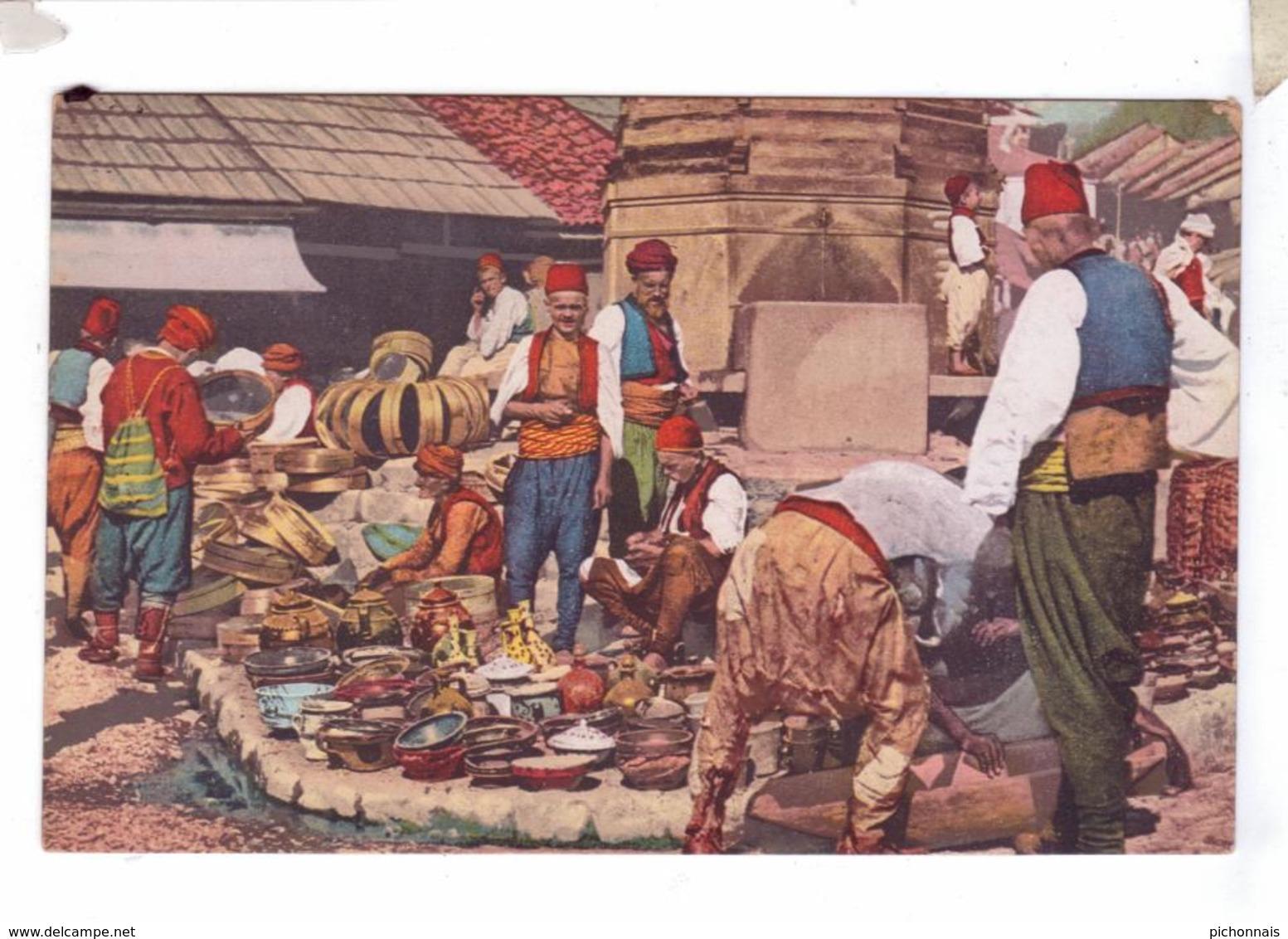 BOSNA BOSNIA BOSNIE Carsija Market Piata Marche - Bosnie-Herzegovine