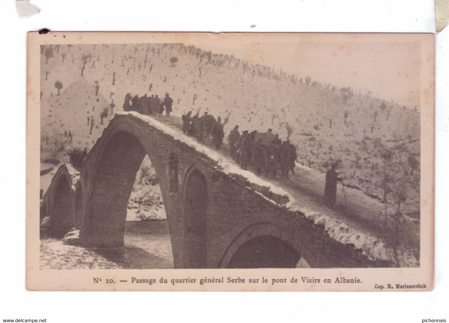 BOSNA BOSNIA BOSNIE Kukes  Quartier Serbe Pont De VIZIRS Musee Arts Decoratifs 1916 Marianovich - Bosnie-Herzegovine