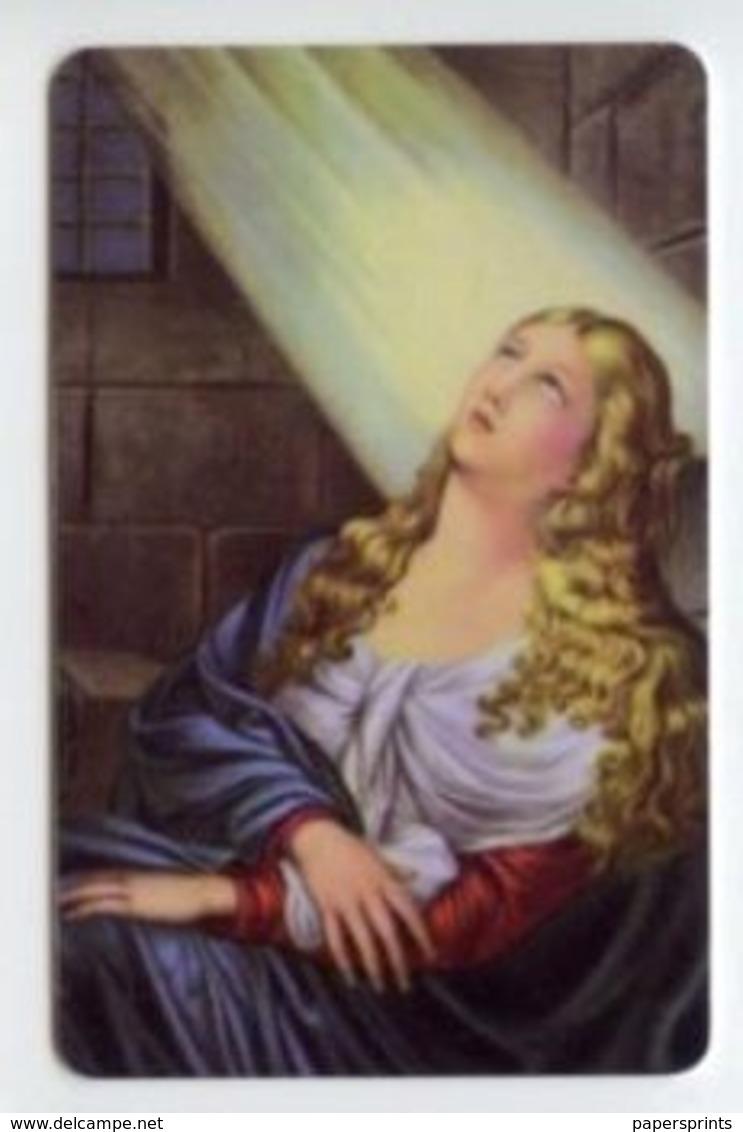Catania - Santino Antico SANT'AGATA Vergine E Martire  - PERFETTO P89 - Religione & Esoterismo