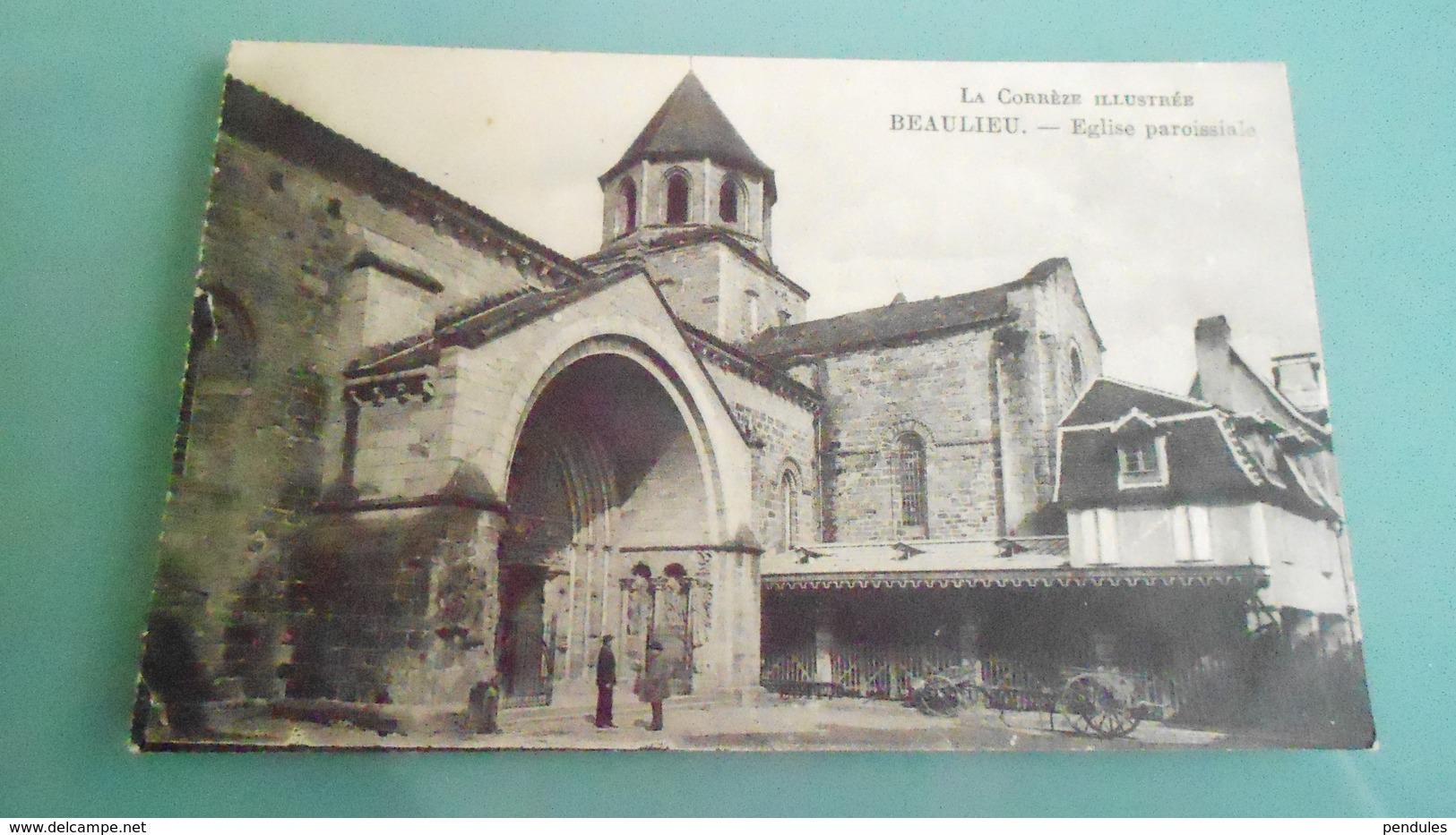 19CARTE DEBEAULIEUN° DE CASIER 1089 NN - France