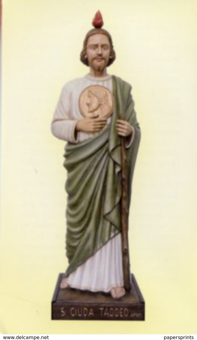 Catania - Santino SAN GIUDA TADDEO  - PERFETTO P89 - Religione & Esoterismo