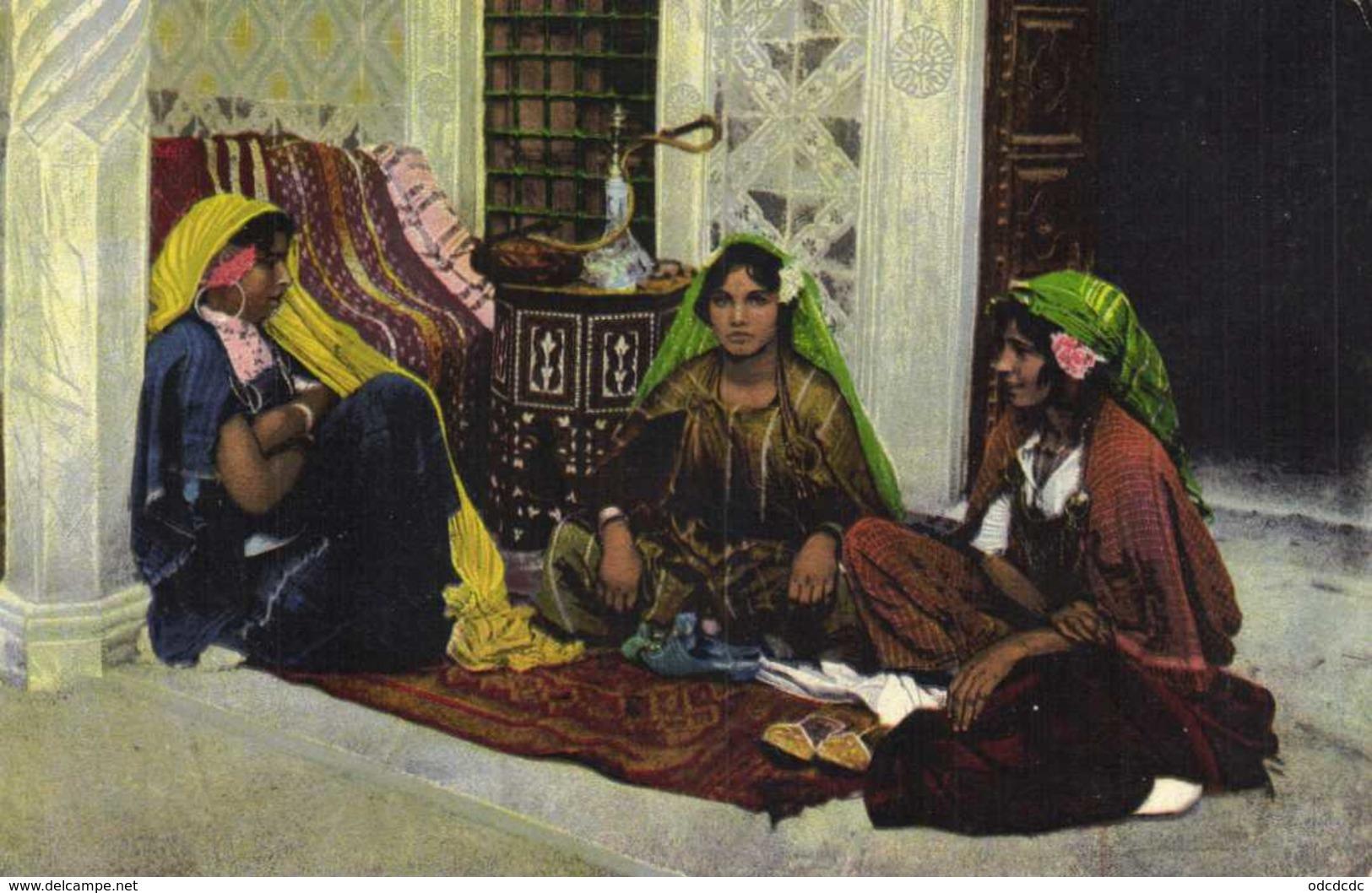 Harem ( Maruecos) Lehnert & Landrock Colorisée RV Beau Cachet Tresor Et Postes Aux Armées Meknes - Autres