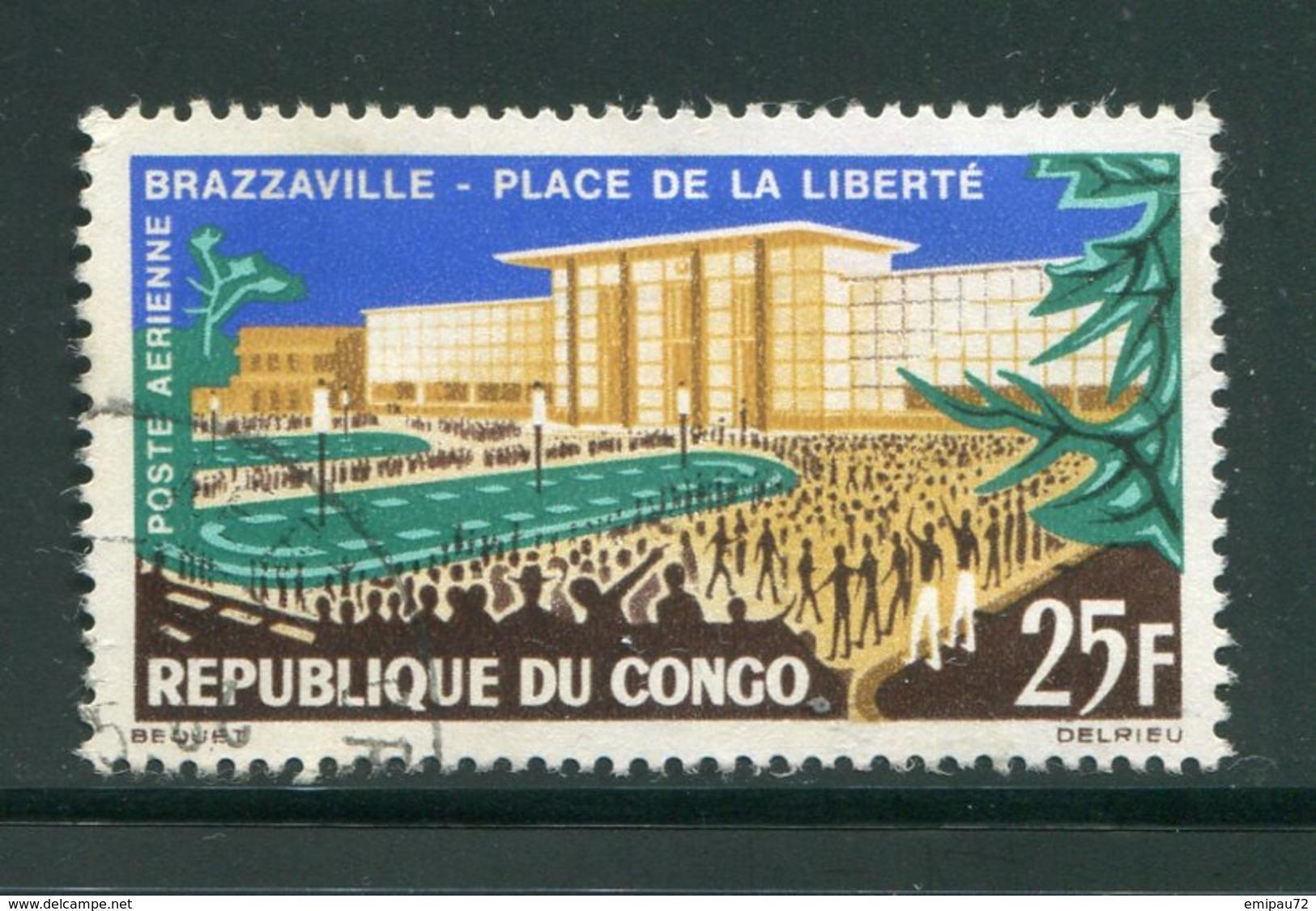 CONGO- P.A Y&T N°12- Oblitéré - Congo - Brazzaville