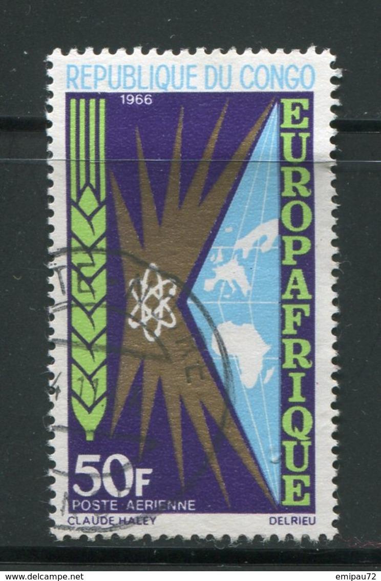 CONGO- P.A Y&T N°40- Oblitéré - Congo - Brazzaville