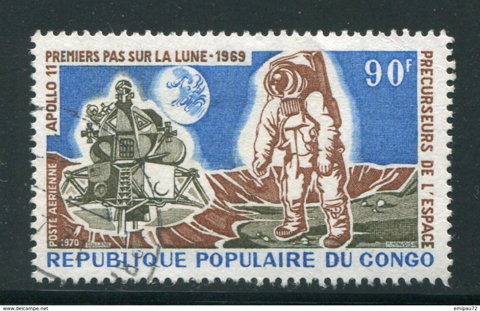 CONGO- P.A Y&T N°104- Oblitéré (espace) - Oblitérés