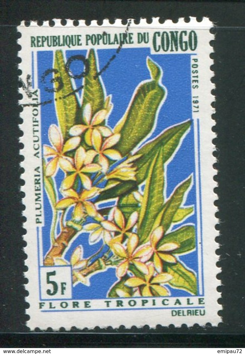 CONGO- Y&T N°285- Oblitéré (fleurs) - Oblitérés