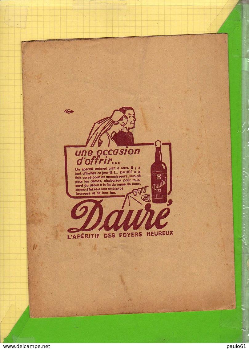 PROTEGE CAHIER    :  DAURE Aperitif Naturel  Le Laboureur Et Ses Enfants - Protège-cahiers