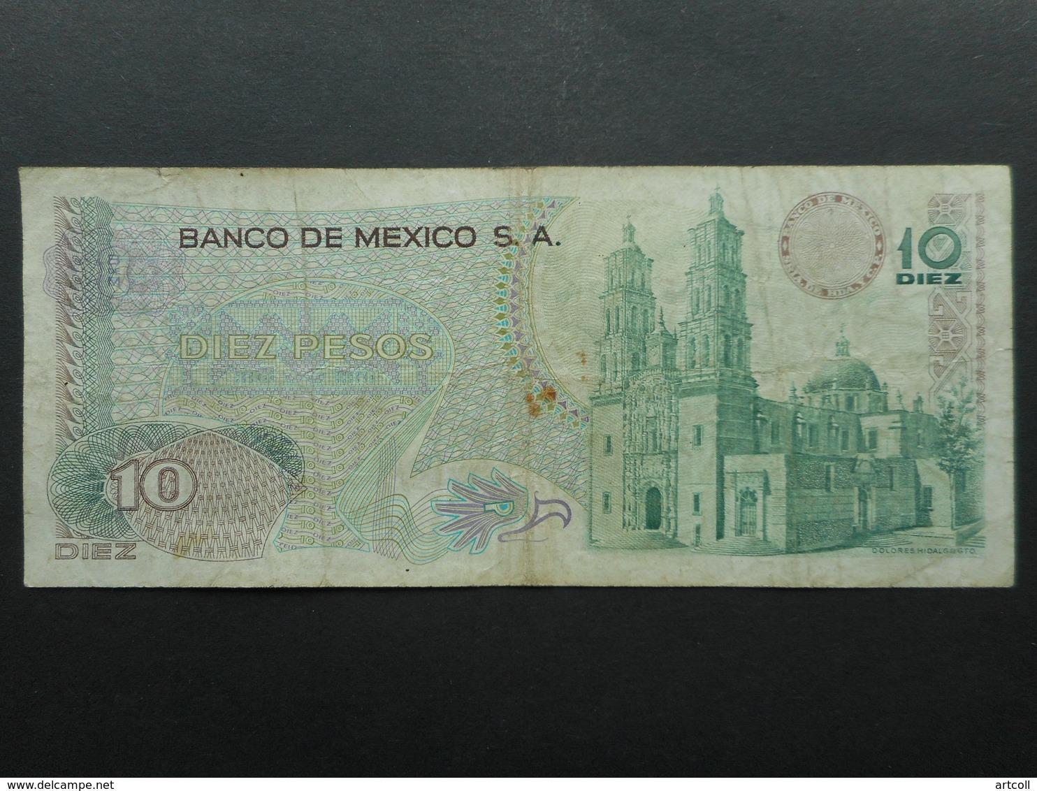 Mexico 10 Pesos 1971 - Mexiko
