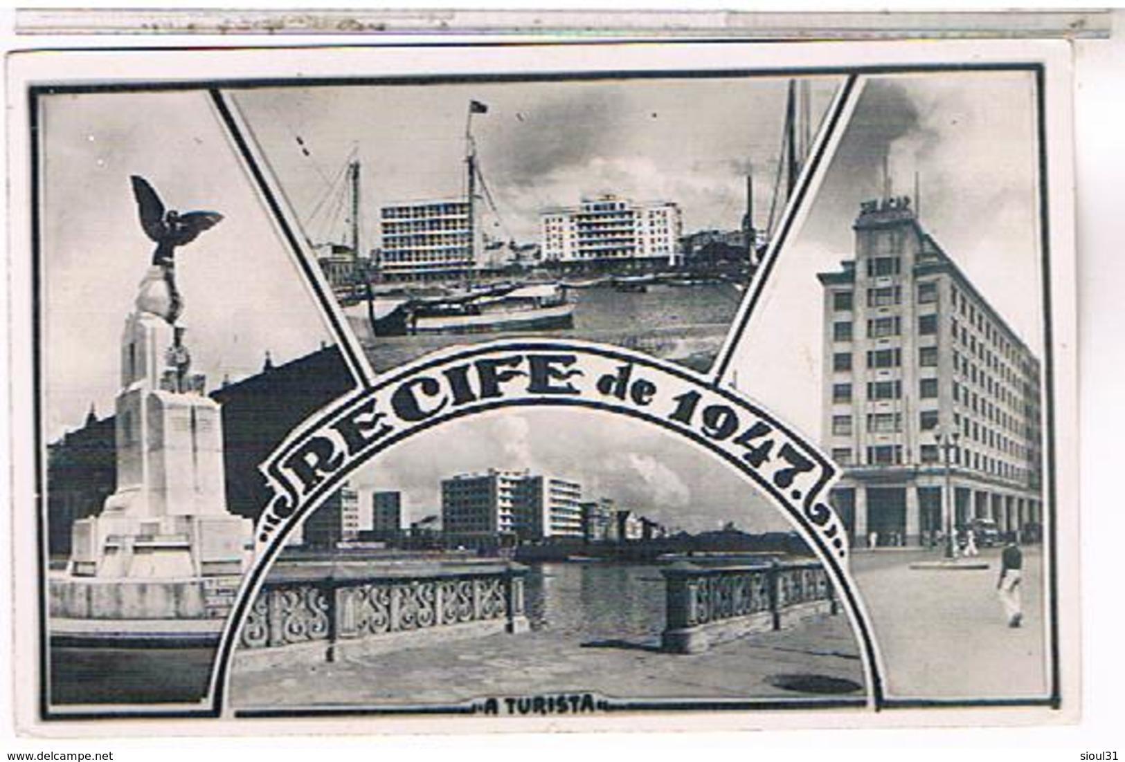 BRESIL RECIFE     1947 US205 - Recife