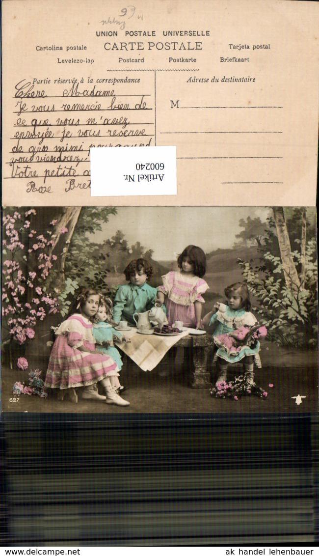 600240,Kinder M. Puppe Puppen Kaffeetrinken - Kinder