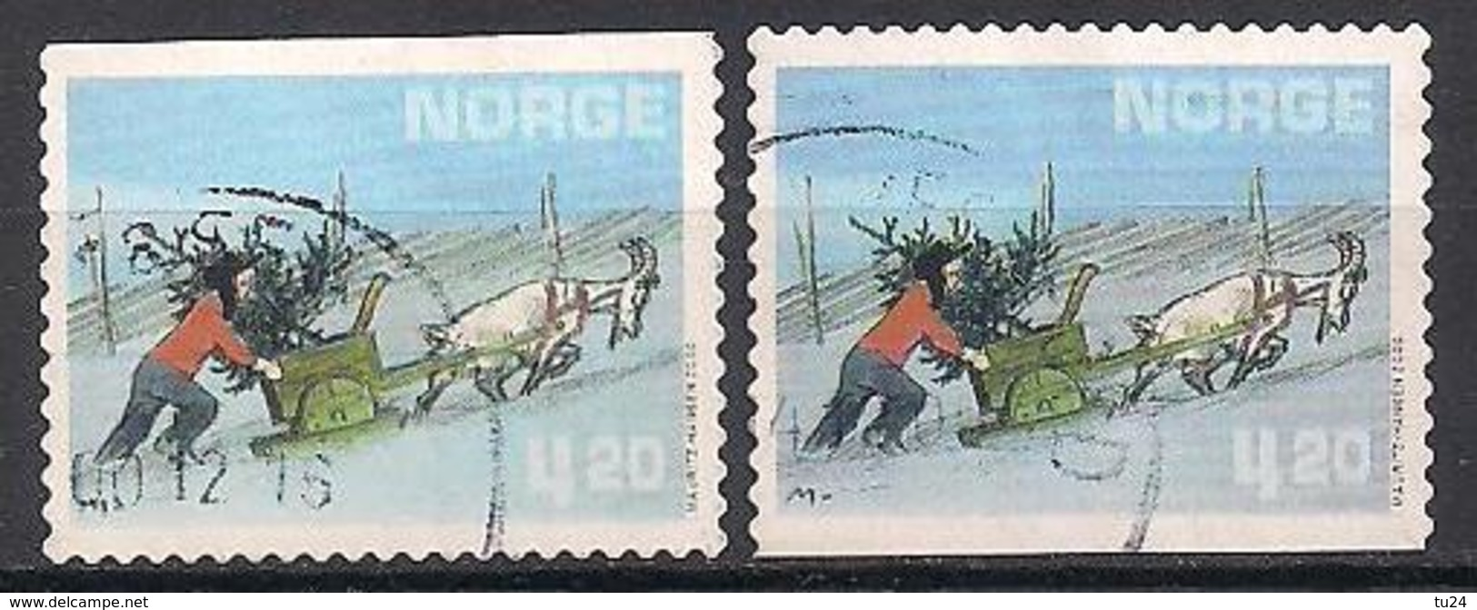 Norwegen  (2000)  Mi.Nr. 1362  Gest. / Used  (1ah12) - Norwegen
