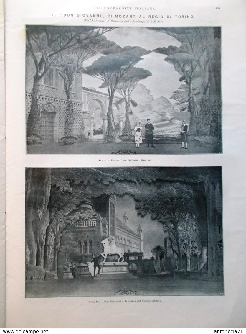 L'Illustrazione Italiana 23 Gennaio 1921 Mozart Socialismo Livorno Cheren Soviet - Libri, Riviste, Fumetti