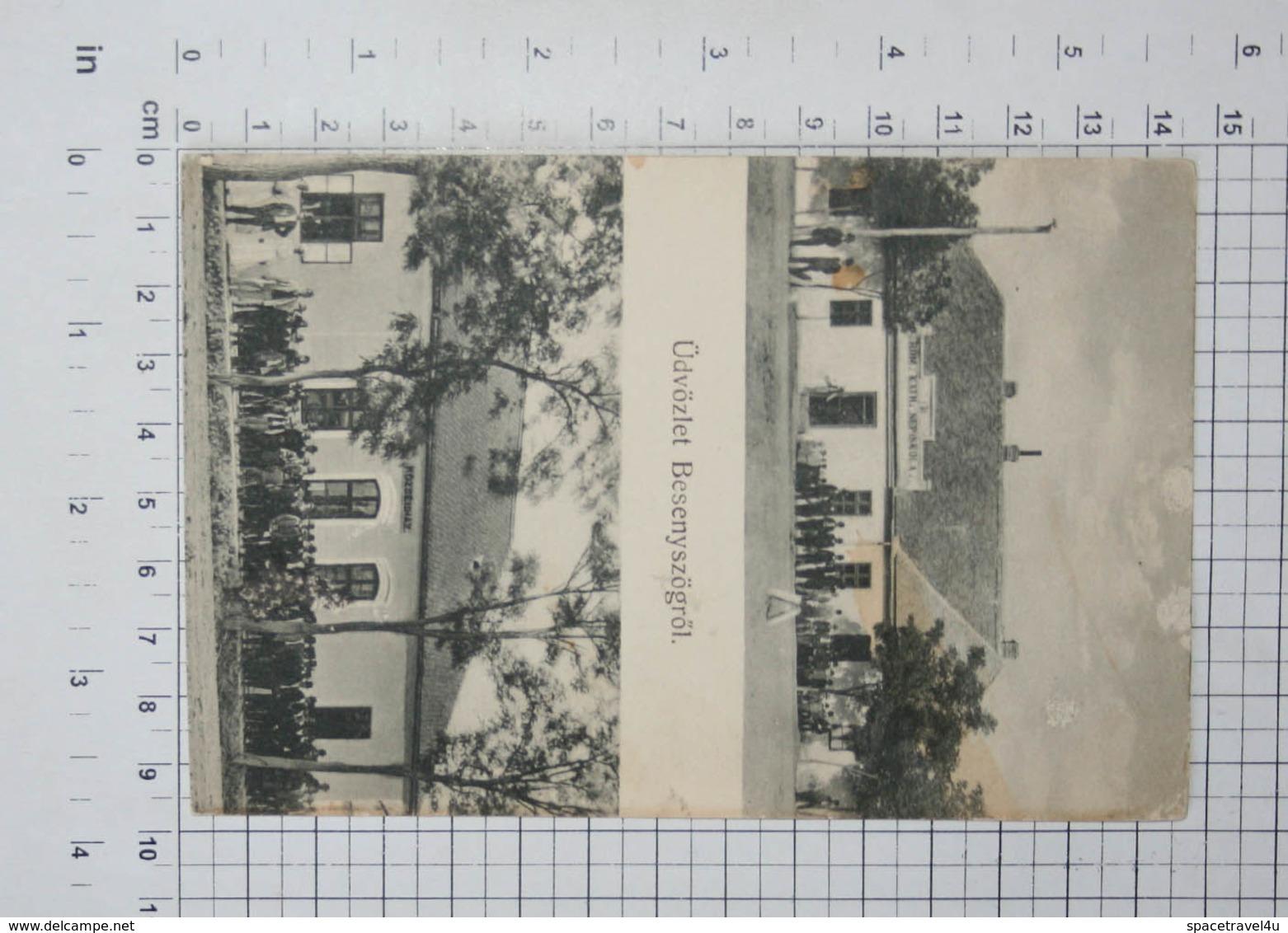 HUNGARY - Besenyszög, Roman Catholic School - Vintage Photo POSTCARD - (APAT2-68) - Hungary