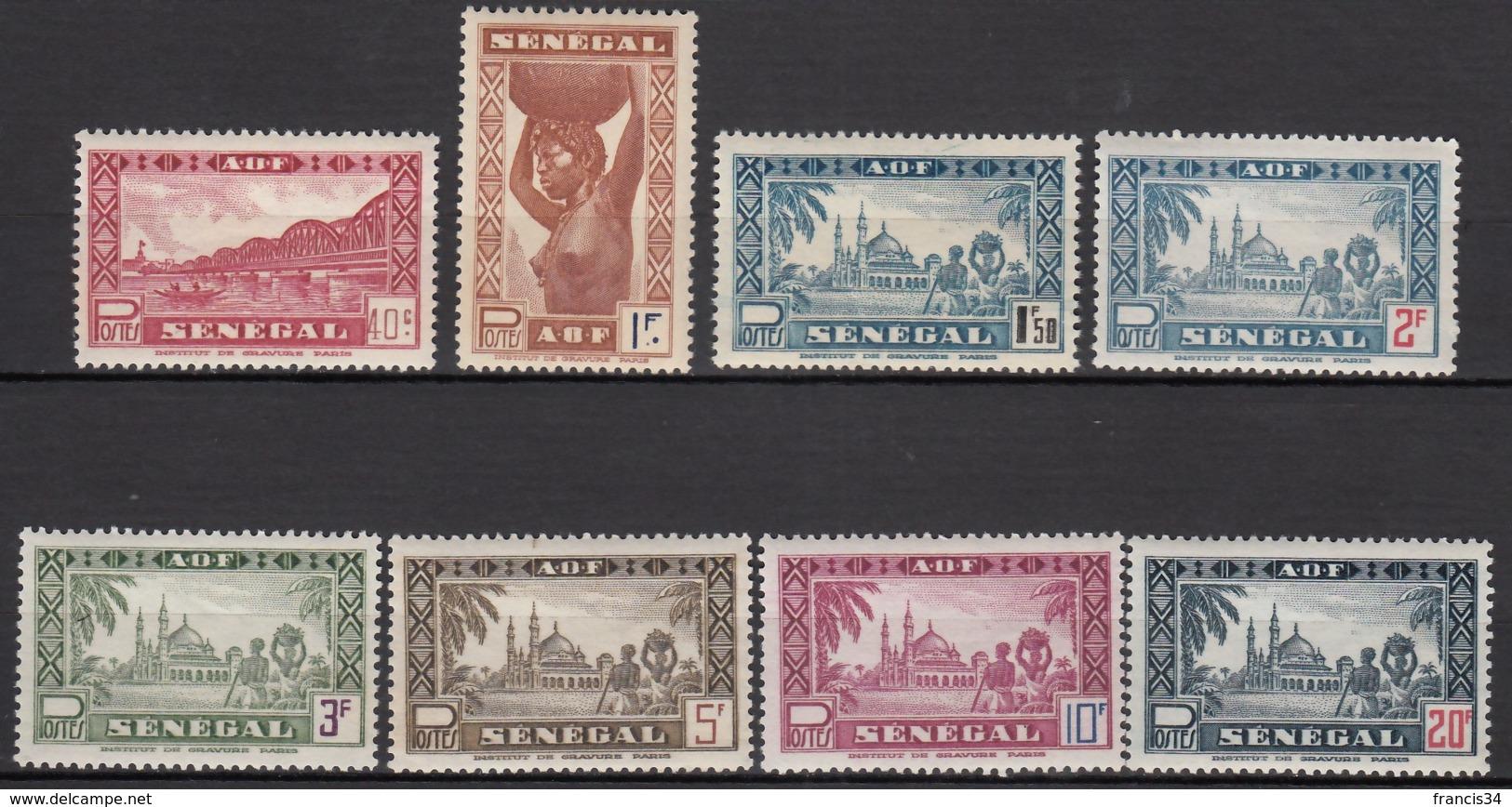 Du N° 179 Au N° 186 - X X - ( C 1779 ) - Unused Stamps