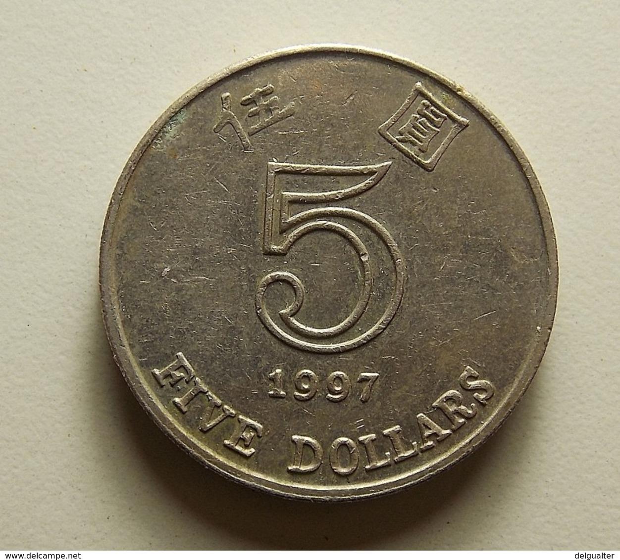 Hong Kong 5 Dollars 1997 - Hong Kong