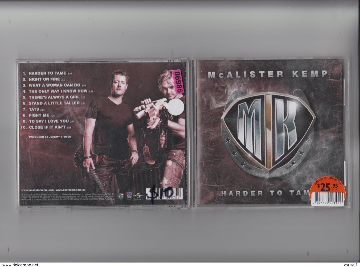 McAlister Kemp - Harder To Tame - Original CD - Country & Folk