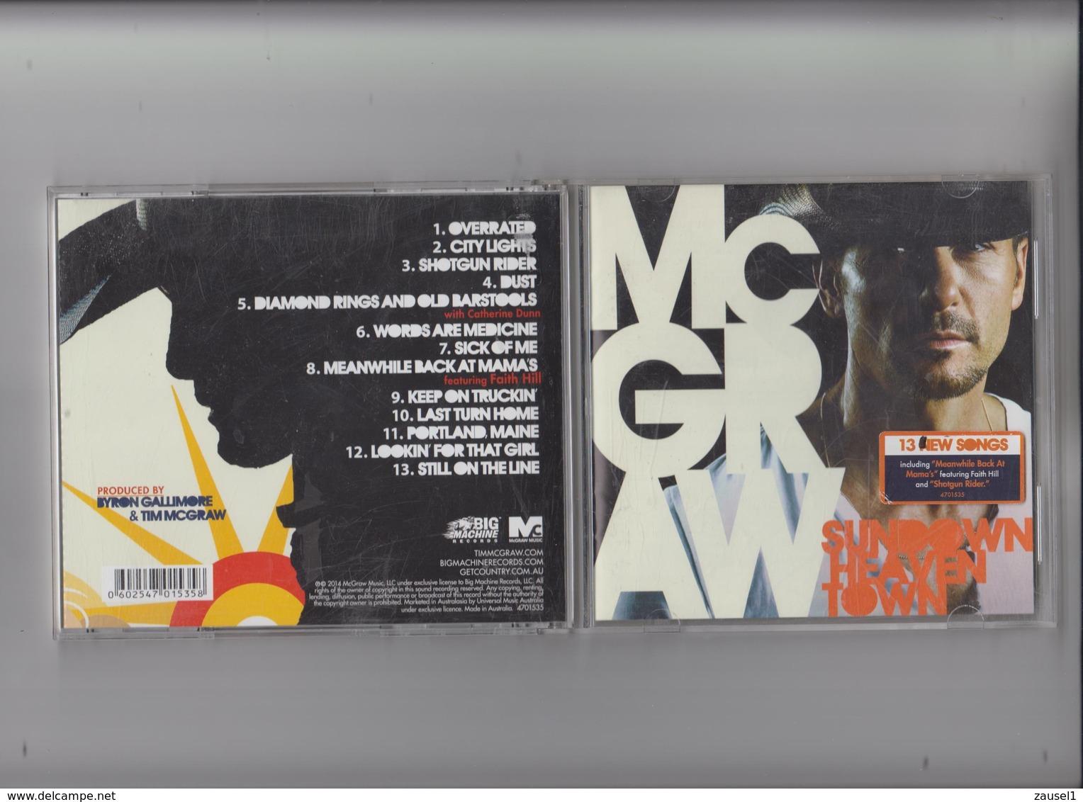 Tim McGraw - Sundown Heaven Town - Original CD - Country & Folk