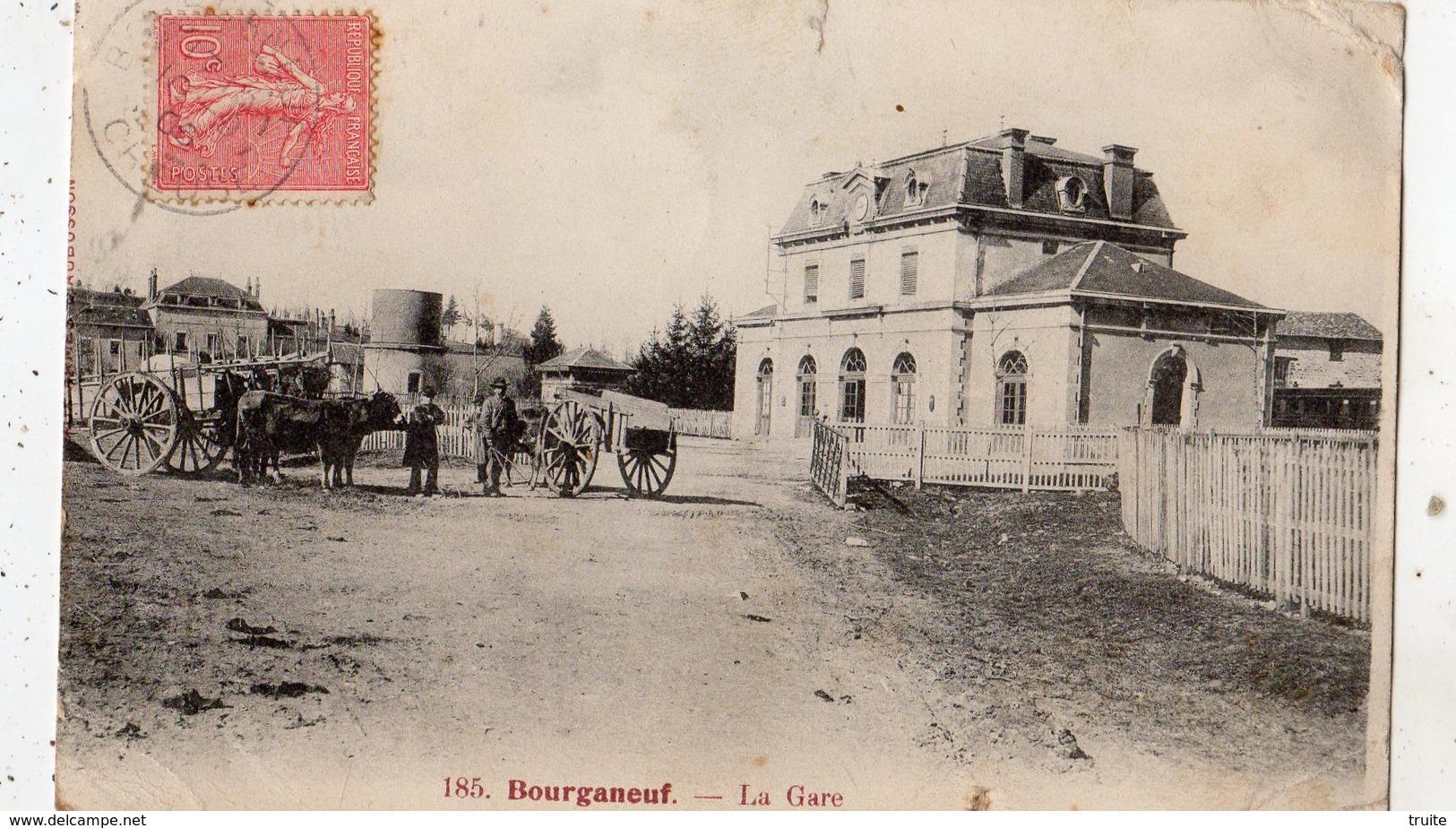 BOURGANEUF LA GARE - Bourganeuf
