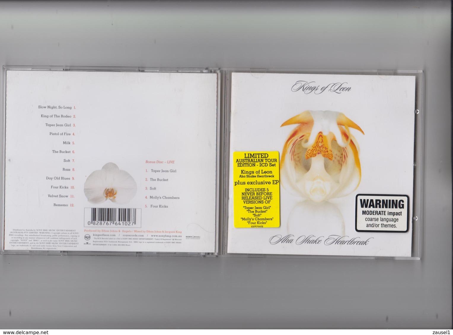 Kings Of Leon - Aha Shake Heartbreak - 2 Original CDs - Country & Folk