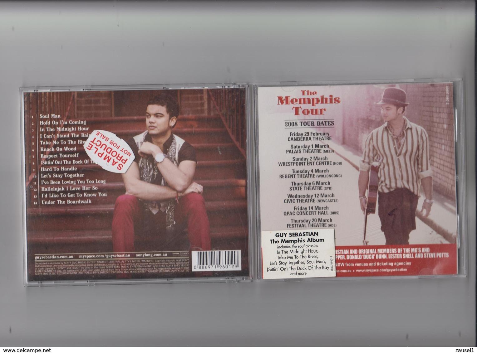 Guy Sebastian - The Memphis Album - Original CD - Country & Folk