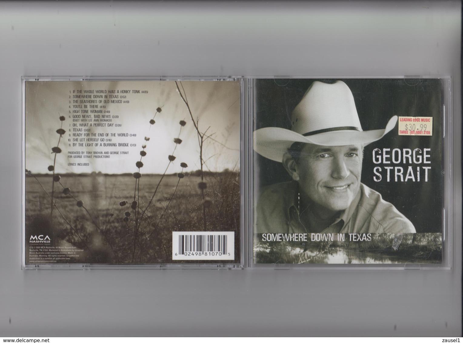 George Strait - Somewhere Down In Texas - Original CD - Country & Folk