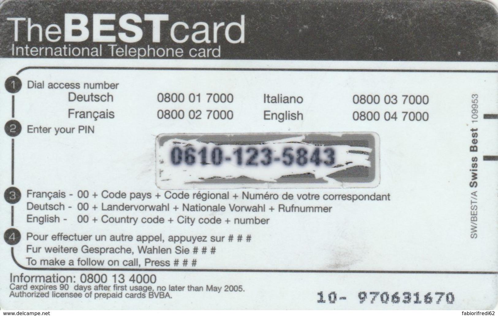 PREPAID PHONE CARD SVIZZERA  (PM2221 - Svizzera