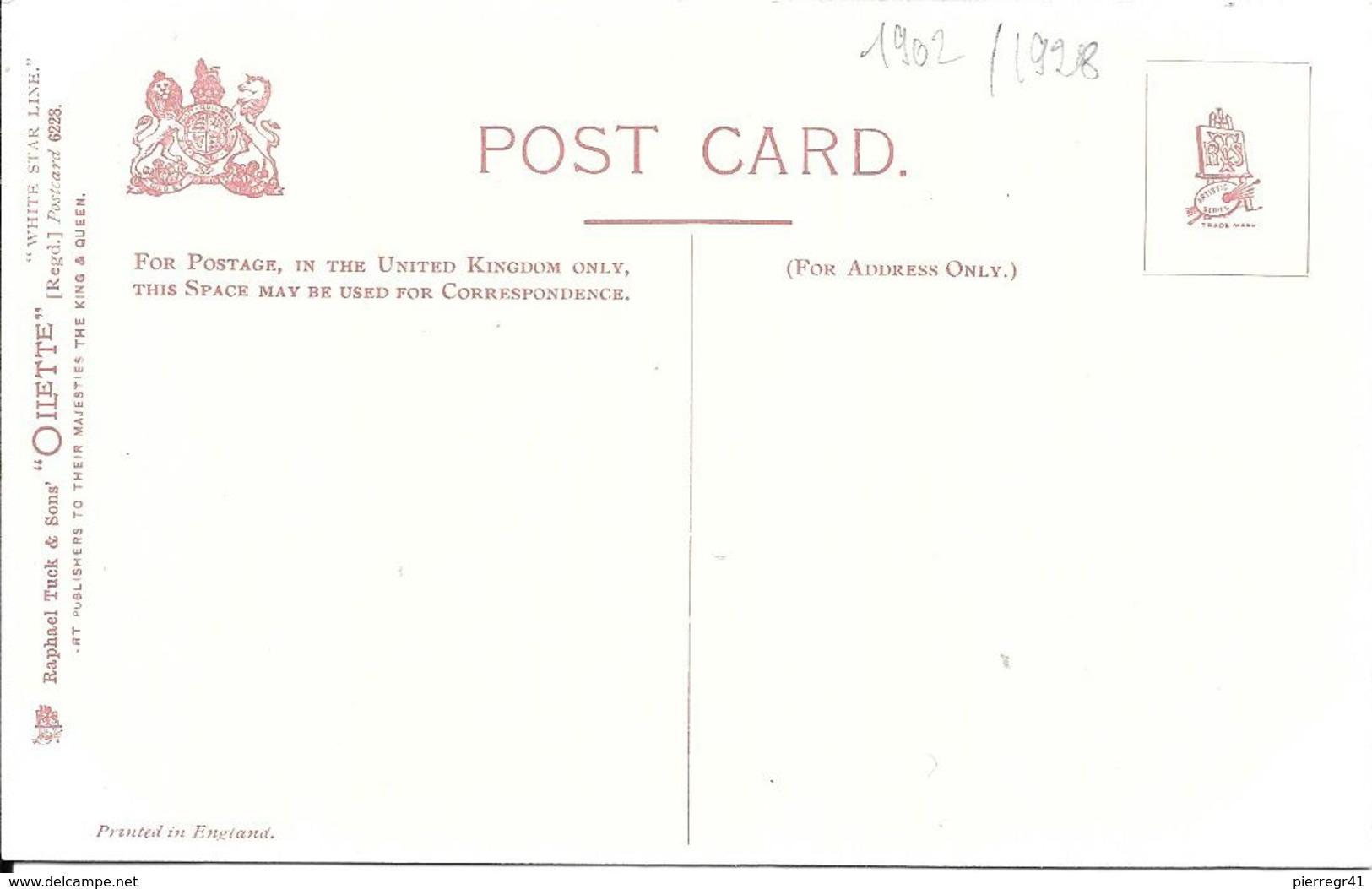 CPA- Vers 1900-PAQUEBOT-S.S CRETIC-Cie WHITE STAR LINES-Ferraillé 1929-TBE-RARE - Paquebots