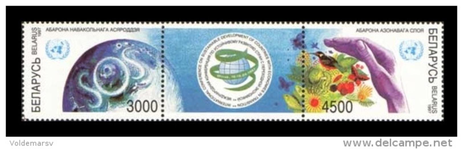 Belarus 1997 Mih. 222/23 Ozone Layer Protection MNH ** - Belarus