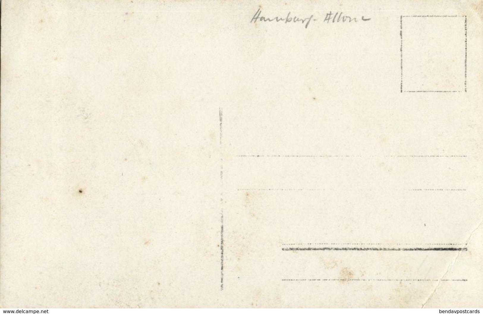 HAMBURG ALTONA, Unbekanntes Treffen Mit Flaggen (1910) Heinrich Schellhorn Foto-AK - Altona