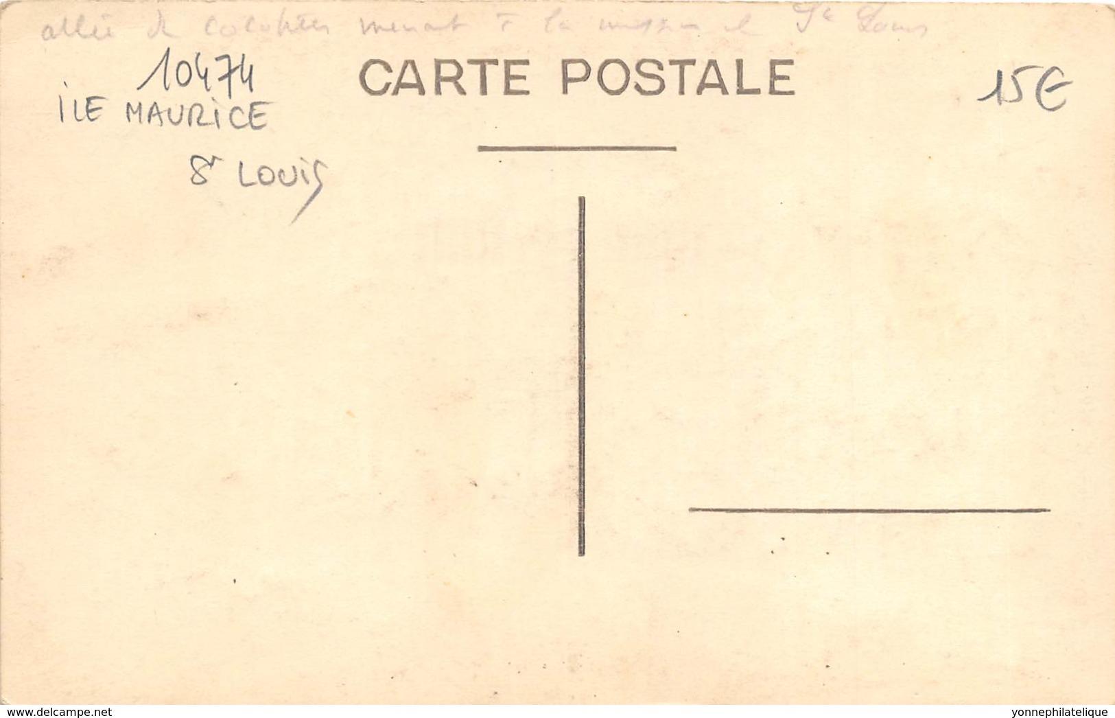 Afrique / 10474 - Ile Maurice - Saint Louis - Maurice