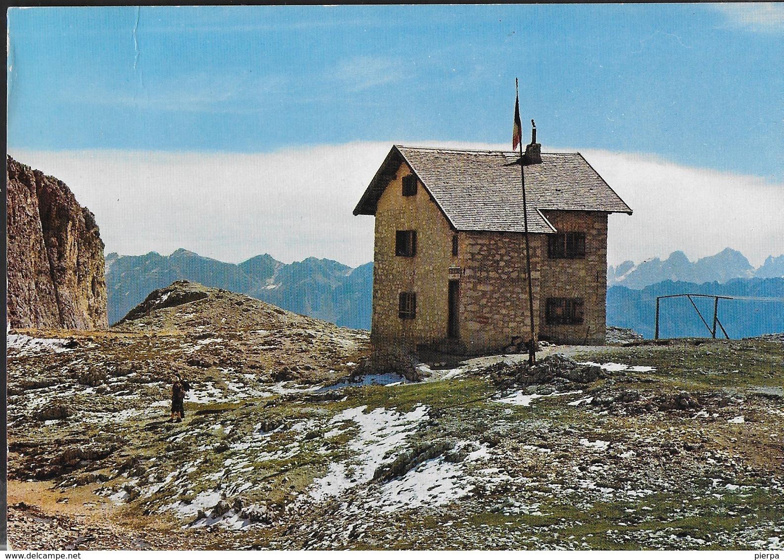 DOLOMITI - RIFUGIO ANTERMOIA - GRUPPO DEL CATINACCIO - FOTO GHEDINA - CATINACCIO - Alpinisme