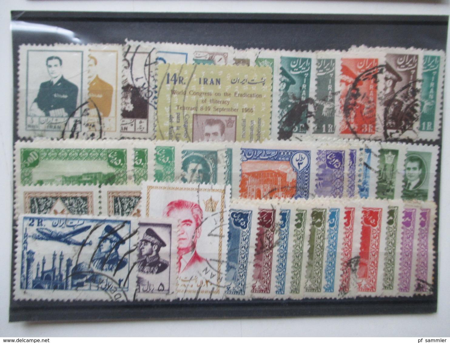 Steckkarten Posten 155 Stk.Europa - Übersee GB / Frankreich Kolonien Mit Afrika Usw. Alt - Neu Mehr Als 3000 Marken - Briefmarken