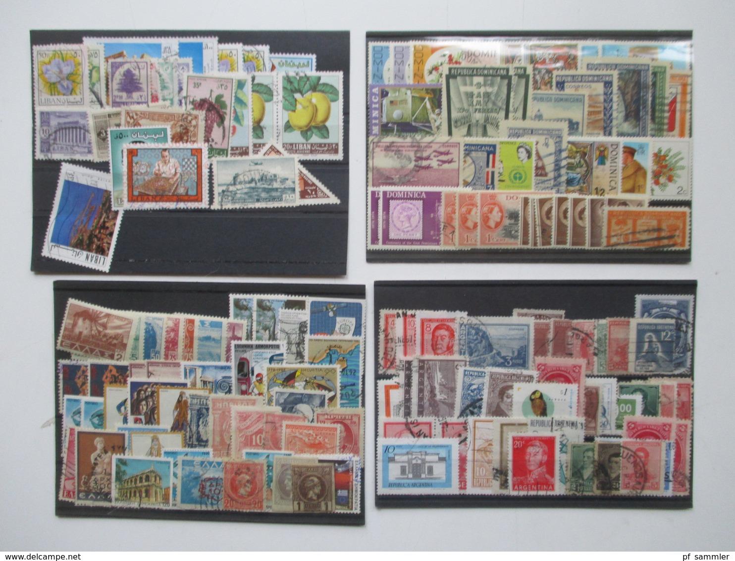 Steckkarten Posten 155 Stk.Europa - Übersee GB / Frankreich Kolonien Mit Afrika Usw. Alt - Neu Mehr Als 3000 Marken - Sammlungen (im Alben)