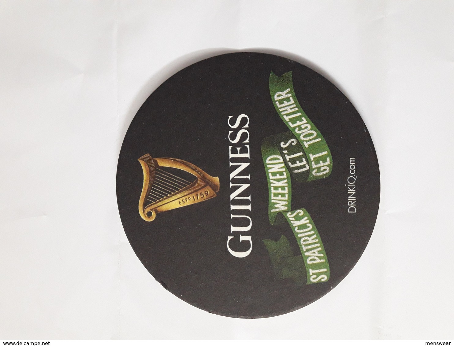 GREAT BRITAIN - 2019 ST.PATRIKS GUINNESS   MATT - - Beer Mats