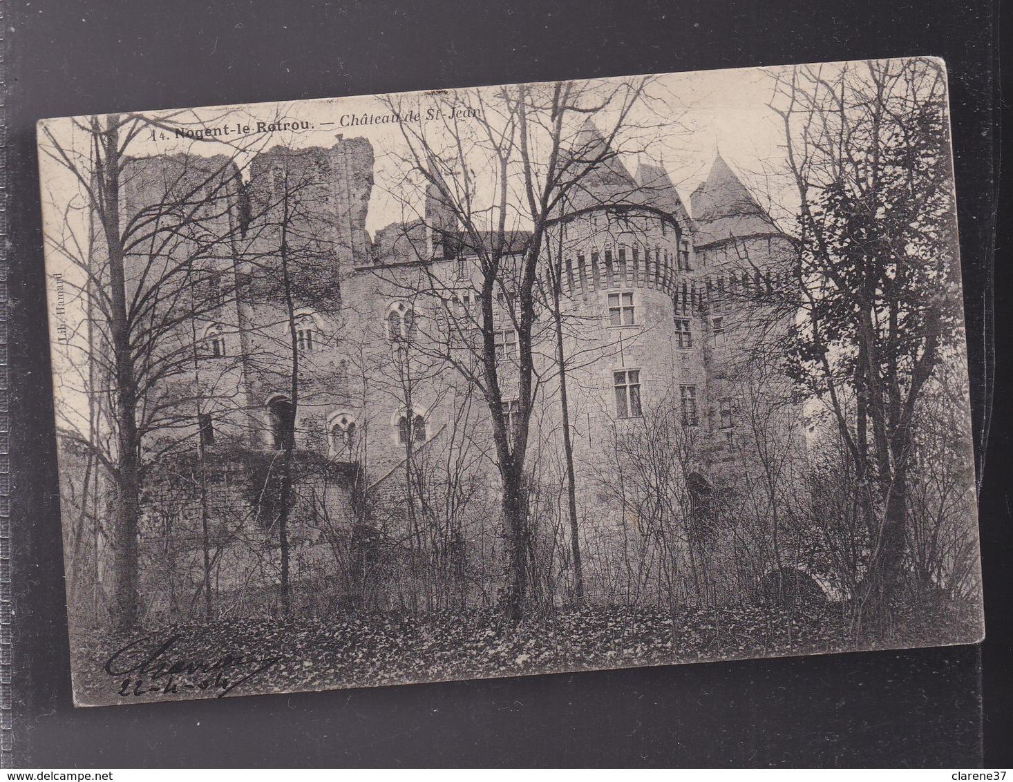 28 , EURE ET LOIR  , NOGENT LE ROTROU  , Le Chateau - Nogent Le Rotrou