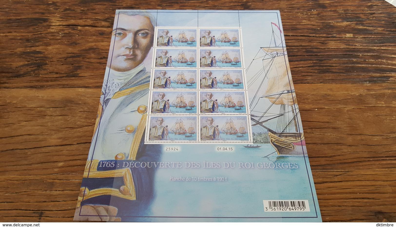 LOT 445400 TIMBRE DE COLONIE POLYNESIE NEUF** FEUILLE - French Polynesia