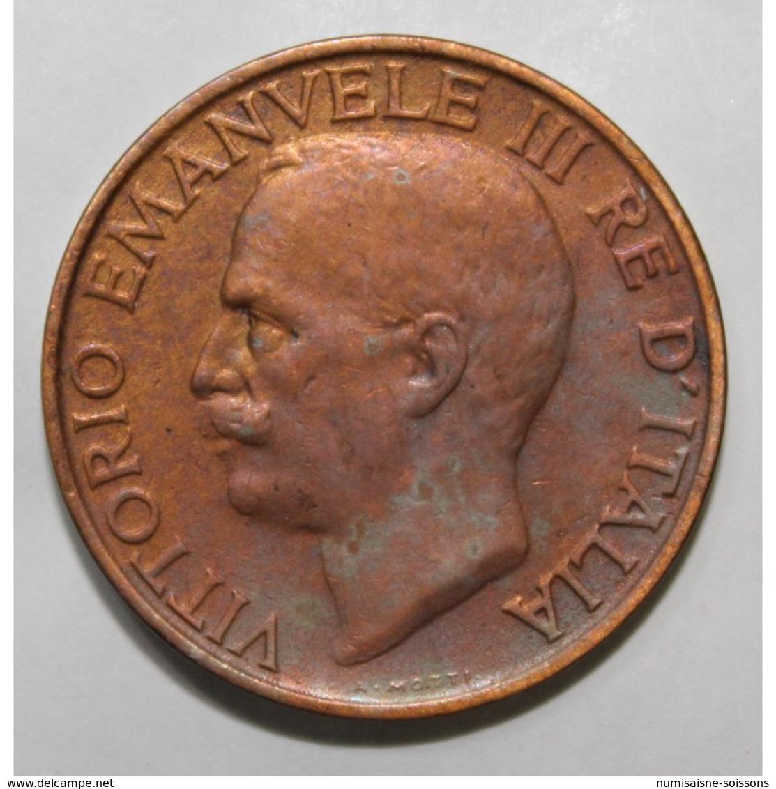 ITALIE - KM 60 - 10 CENTESIMI - 1923 - VICTOR EMMANUEL III - TTB - 1900-1946 : Victor Emmanuel III & Umberto II