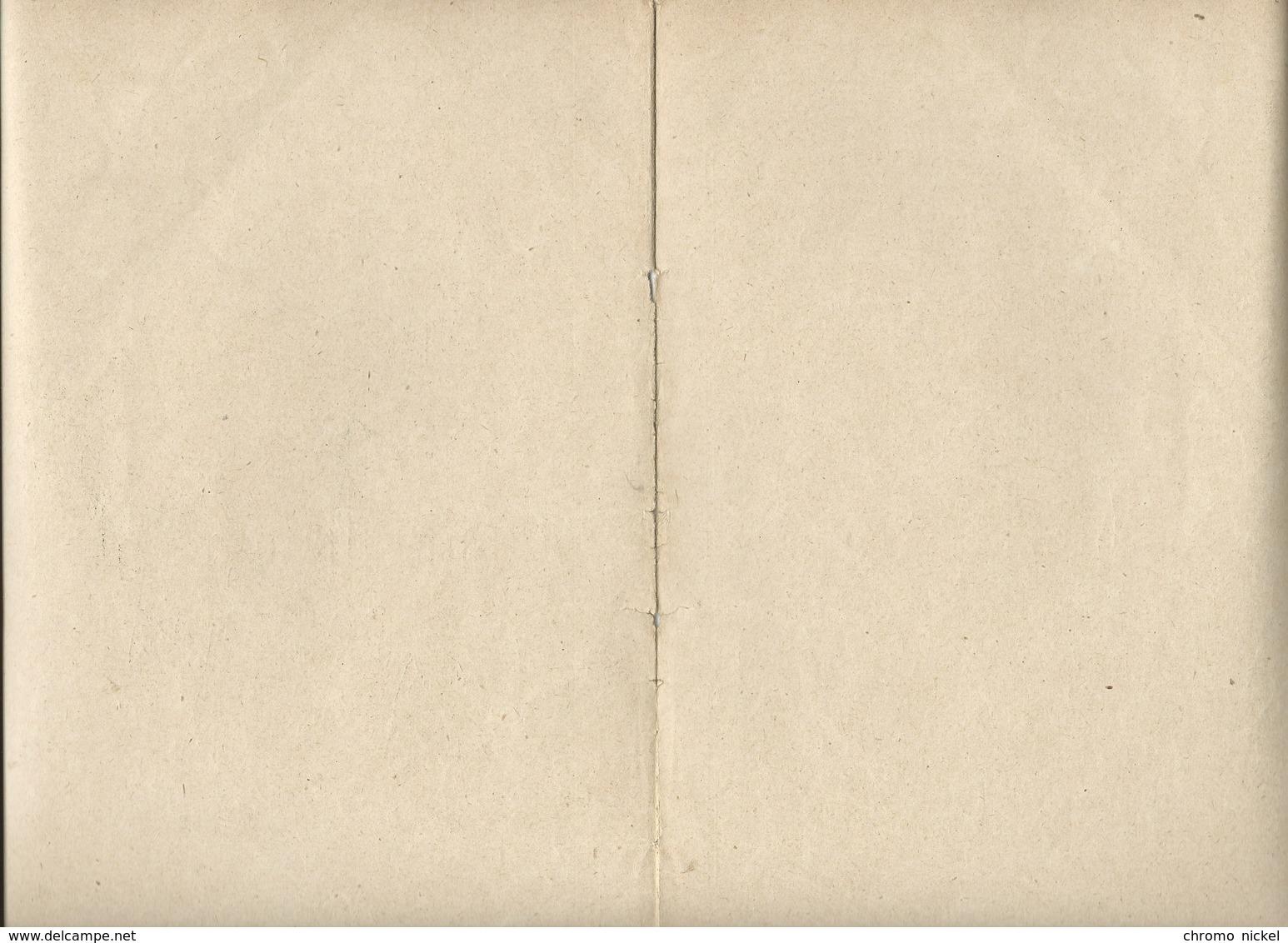Le Marchand De Coco Les Petits Métiers Bien Protège-cahier Couverture  225 X 170  3 Scans  Godchaux - Protège-cahiers