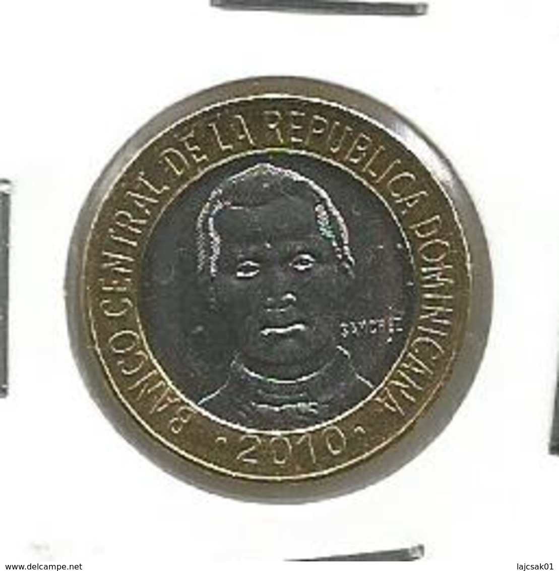 C5  Dominicana 5 Pesos 2010. - Dominicana