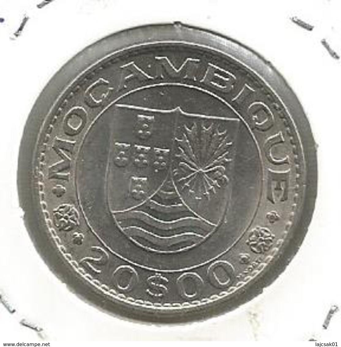 C6 Mozambique 20 Escudos 1971. KM#80 - Mozambique
