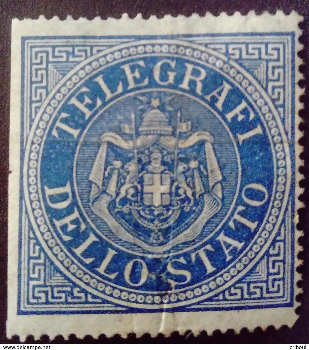 Italie Italy Italia Télégraphe Telegrafi 1886 * MH - Italie