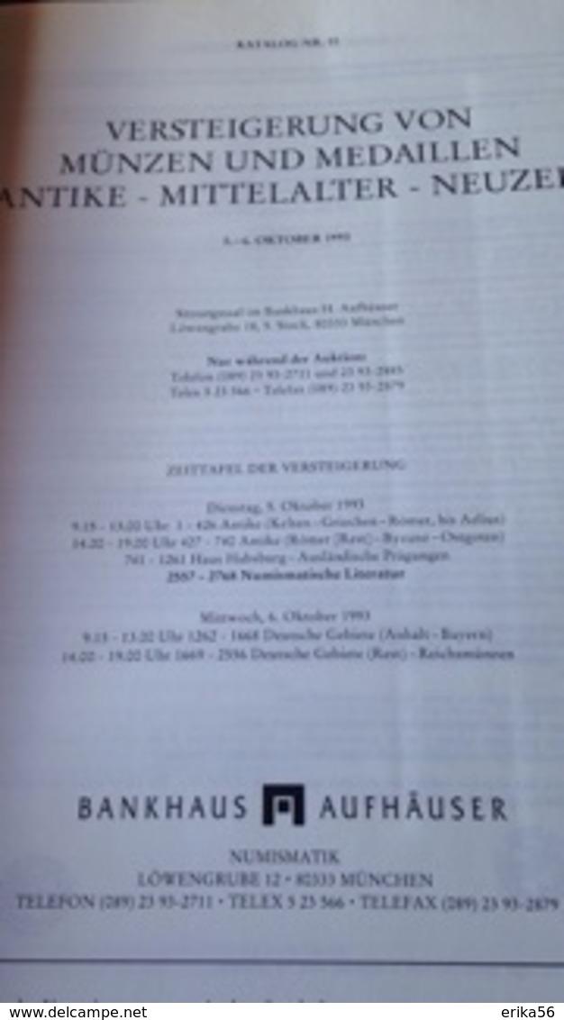 MUNZEN  UND  MEDAILLEN AUKTION 10 - MUNCHEN  1993 - German