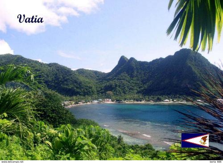 American Samoa Vatia Bay New Postcard Amerikanisch-Samoa AK - Amerikaans-Samoa