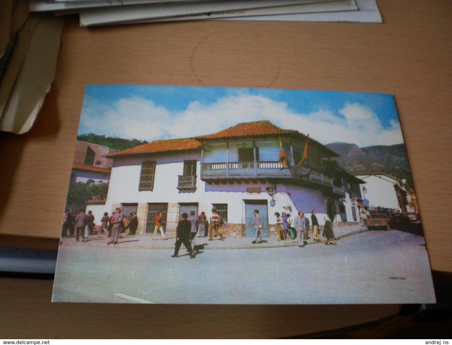 Bogata Casa Museo 20 De Juli De 1810 Fashada - Colombie