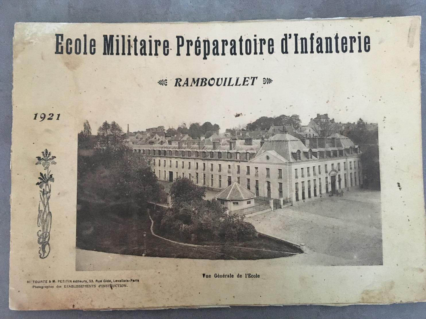 LIVRET ECOLE MILITAIRE PREPARATOIRE D'INFANTERIE RAMBOUILLET - Catalogues
