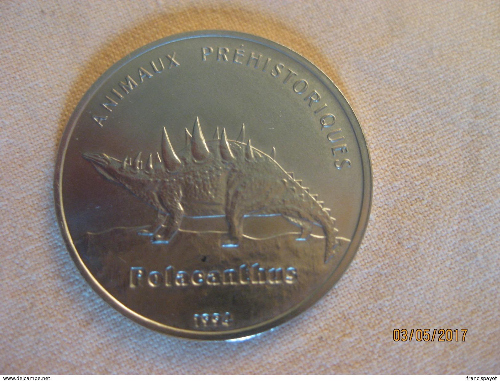 Congo-Brazzaville: 100 Francs 1994 (polacanthus) - Congo (Republic 1960)