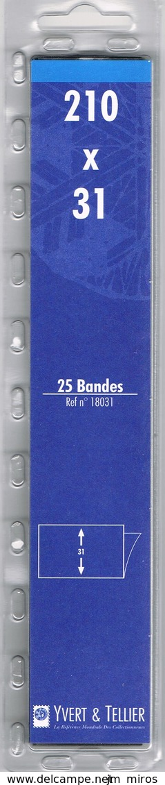 BANDE  YT 210X55 - Bandes Cristal