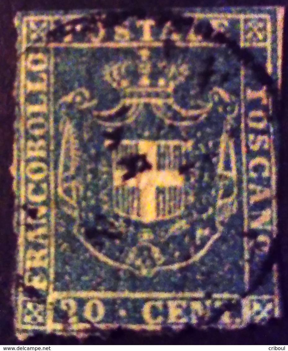 Italie Italy Italia Toscane Toscano 1860 Yvert 20 O Used Usato - Toskana