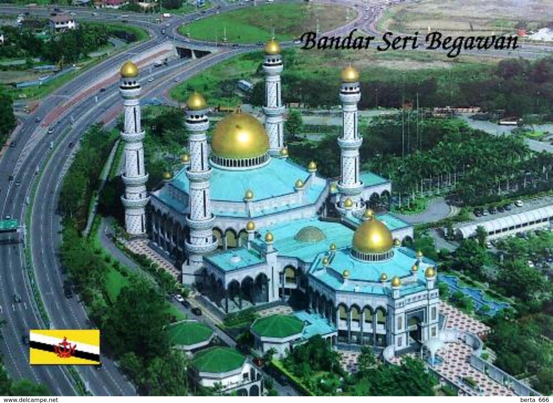 Brunei Bolkiah Mosque New Postcard - Brunei